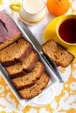 Honey rye loaf cake Royalty Free Stock Photos
