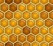 Honey seamless stock illustration