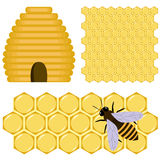 Honey set Stock Image