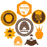 Honey. Set Stock Photography