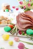 Honey Sliced Ham For Easter lizenzfreie stockfotografie