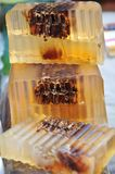 Honey soap Royalty Free Stock Photography
