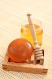 Honey soap Royalty Free Stock Photos