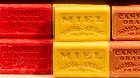Honey Soap stock image