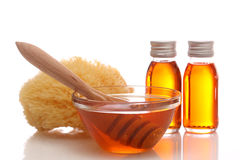 Honey spa Stock Photo