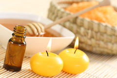 Honey spa Royalty Free Stock Images