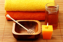 Honey spa Royalty Free Stock Photos