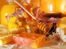 Honey Spa Products Foto de archivo