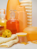 Honey Spa Products immagine stock