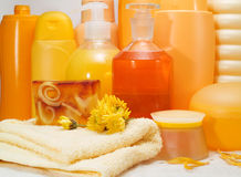 Honey Spa Products Fotos de archivo libres de regalías