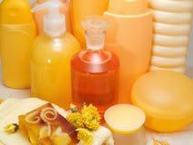 Honey Spa Products Imagenes de archivo