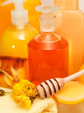 Honey Spa Products Royalty Free Stock Image