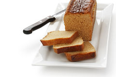Honey spice bread , french ginger bread Royalty Free Stock Image