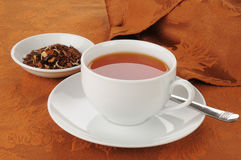 Honey spice roibos tea Royalty Free Stock Image