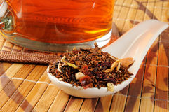 Honey Spice Rooibos Tea. A cup of honey spice rooibos tea Royalty Free Stock Photo