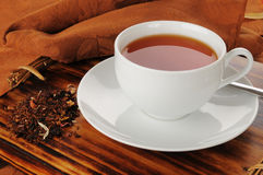 Honey spice rooibos tea Stock Images