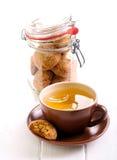 Honey spicy cookies Stock Photo