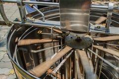 Honey splitting machine Stock Photo