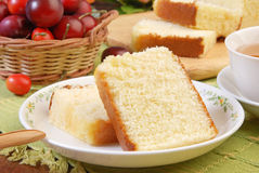 Honey spong  cake Royalty Free Stock Images