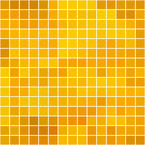 Honey square tile mosaic with white borders -seamless background Stock Photography
