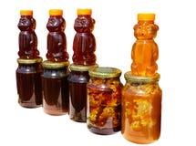 Honey Stall Stock Photo