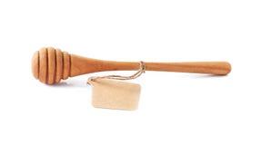 Honey Stick de madera Imagenes de archivo