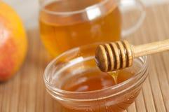 Honey stick Royalty Free Stock Photo