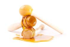 Honey sticks Stock Photos