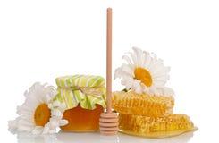 Honey still life Royalty Free Stock Photos