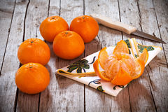 Honey Tangerines Stock Photo