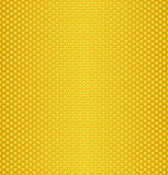 Honey texture. Abstract texture of honeycombs/Perforated Gold texture stock illustration
