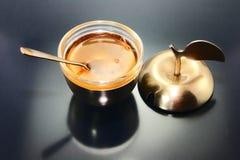 Honey to Jewish New Year. royalty free stock image