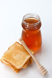 Honey and Toast Royalty Free Stock Photo