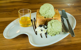 Honey Toast foto de stock royalty free