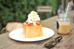 Honey Toast Fotografie Stock Libere da Diritti