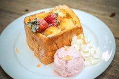 Honey Toast Foto de archivo