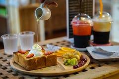 Honey Toast Immagini Stock Libere da Diritti