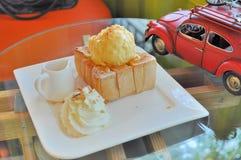 Honey Toast Photographie stock