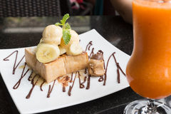 Honey Toast Image stock