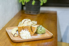 Honey Toast Imagem de Stock Royalty Free