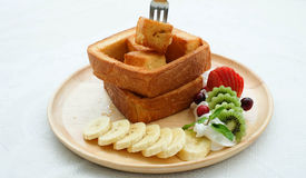 Honey Toast Stockbilder