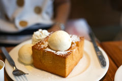 Honey Toast Arkivfoton