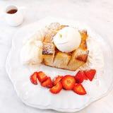 Honey Toast fotos de archivo