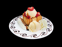 Honey toast Stock Photo