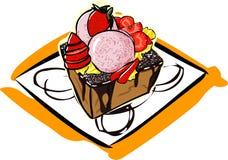 Honey toast Royalty Free Stock Photo