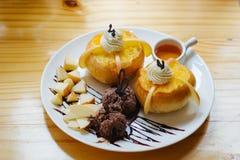 Honey toast Stock Images