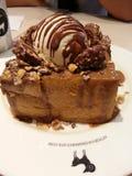 Honey toast dessert Stock Photo