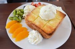 Honey toast Stock Photos
