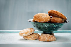 Honey vanilla cookies Royalty Free Stock Images