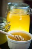 Honey with walnut Royalty Free Stock Photos